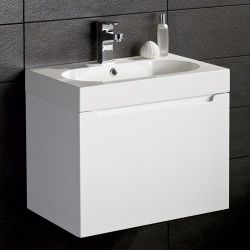 Gleneagles Wall Hung Unit With 1 Tap Hole Basin