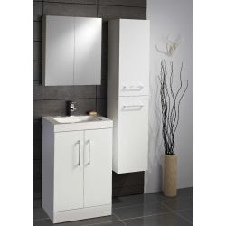 Lomond 500 2 door floor standing unit and basin  (Colour Options)