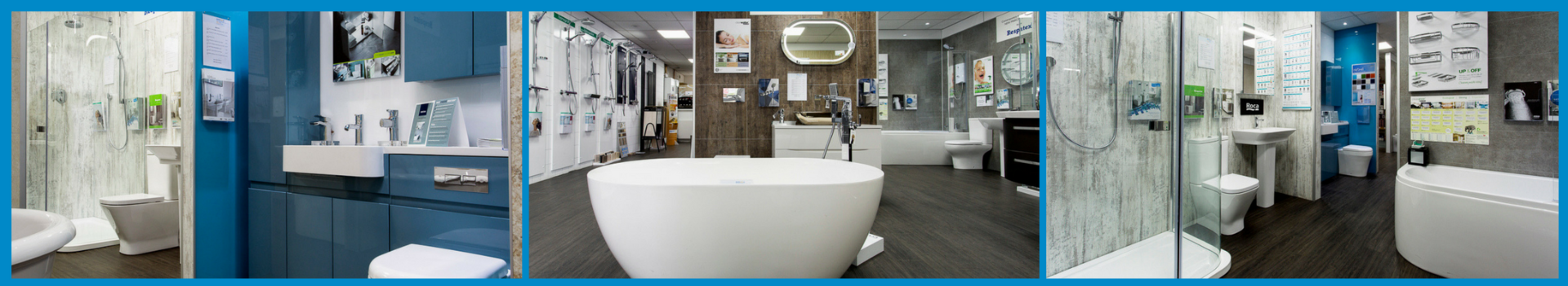 Plumbstore Glasgow Bathroom display areas with in plumbstore maryhill bathroom showroom