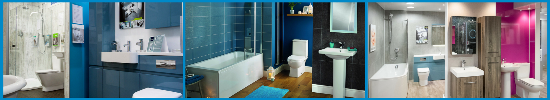 Plumbstore bathroom showroom displays throughout scotland