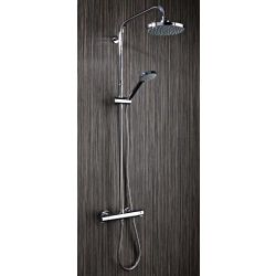 Middleton Round Thermostatic Shower valve and kit