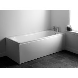 Carron Tempo single ended back to wall bath 1700 x 700 | Gloss white | Carron Baths