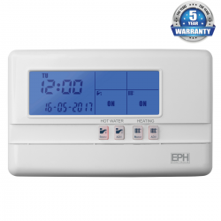 EPH 2 Channel Programmer 2-zone 230v (5 year warranty)