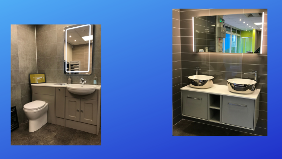 Plumbstore Inverness new bathroom displays