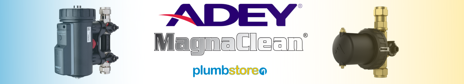 Adey Magnaclean magnetic filter trade morning at Plumbstore Bellshill