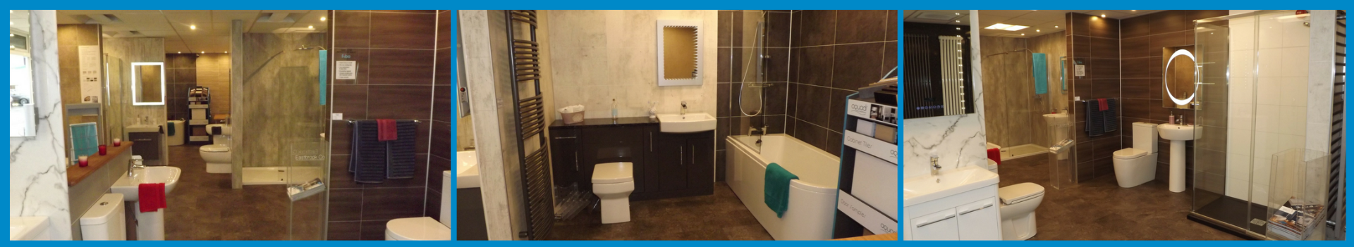 Plumbstore Inverness Bathroom showroom display area