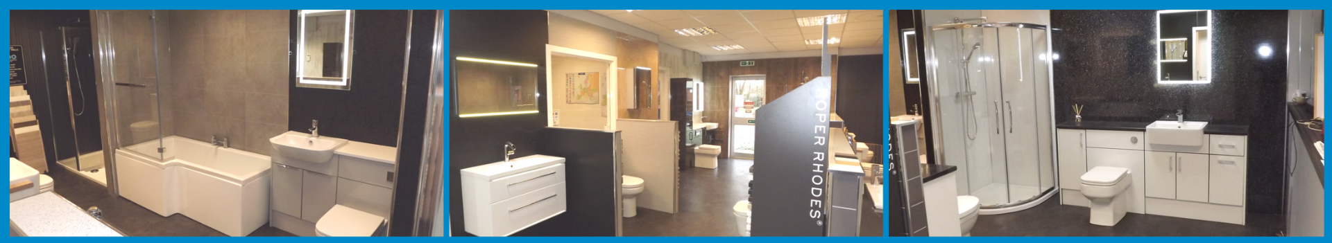 Plumbstore Kilmarnock Bathroom showroom display areas